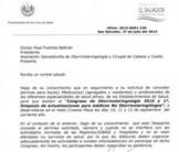 Carta de Permiso Ministerio de Salud
